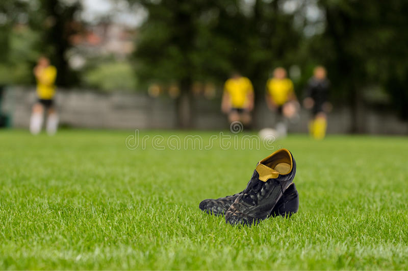 Download Football stock image. Image of green, grass, sport, game - 32888489