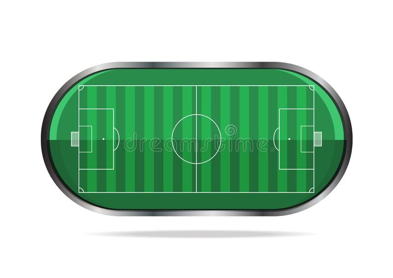 Football soccer sport application icon vector. Is a general illustration royalty free illustration