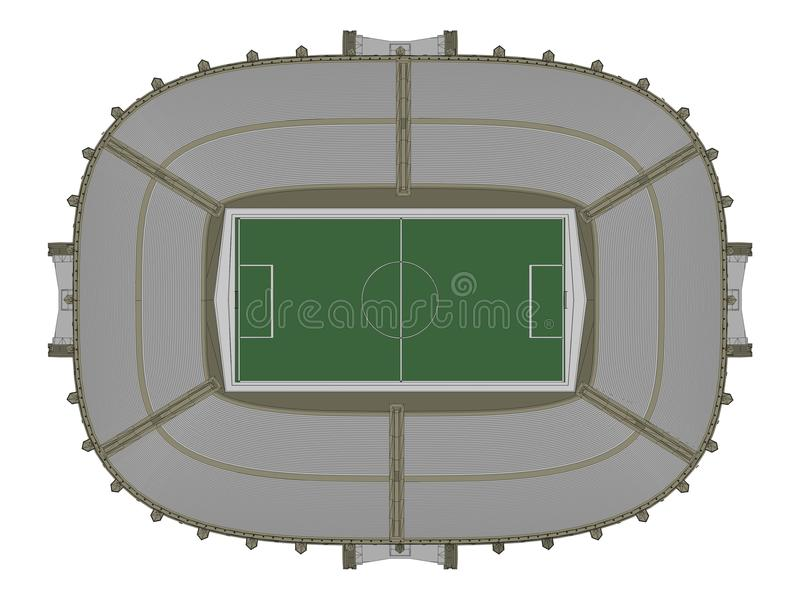 Download Football Soccer Stadium Vector 12 Stock Vector - Image: 24886684