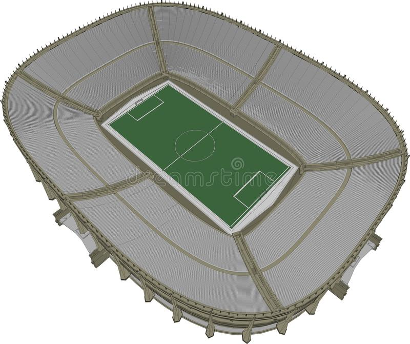 Football Soccer Stadium Vector 13 vector illustration