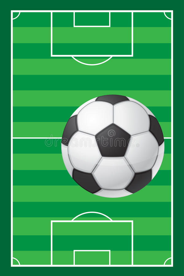 Download Football Soccer Stadiun Field And Ball Royalty Free Stock Photo - Image: 32311185