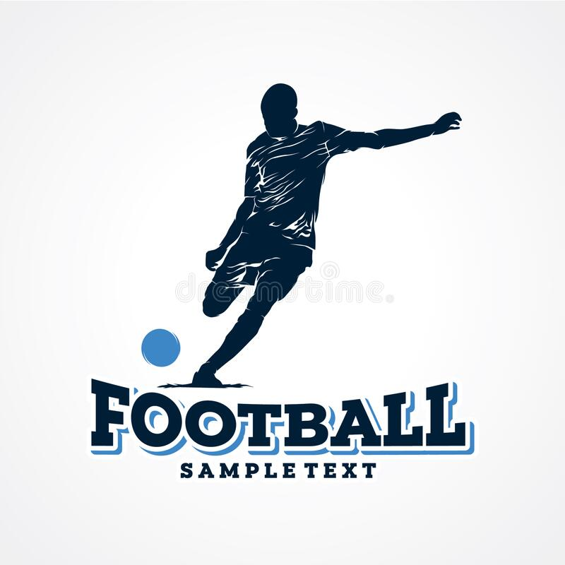 Free Football Sport Logo Design Template Royalty Free Stock Photo - 211838575