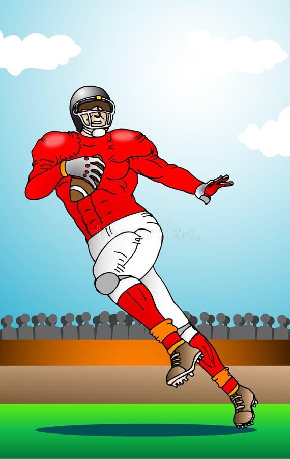 Football Sports Illustration Stock Photo
