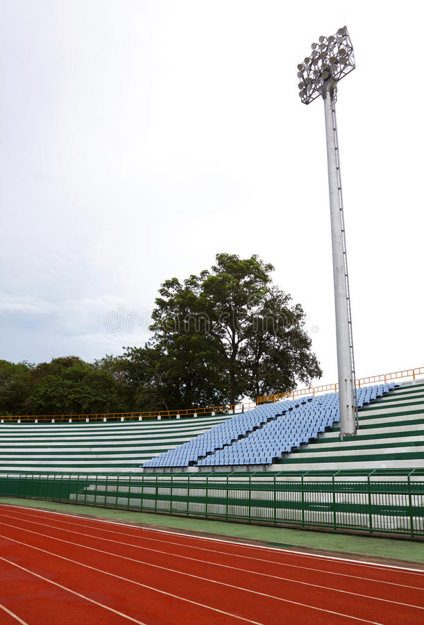 Download A Football Stadium Floodlight Stock Image - Image: 26335751