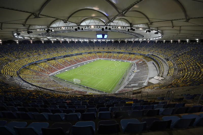 Football stadium royalty free stock images