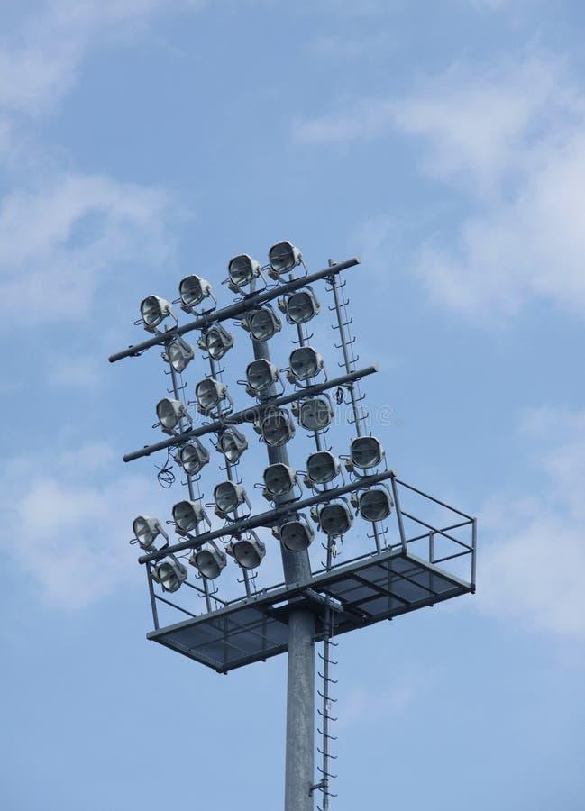 Football Stadium Lights Royalty Free Stock Photo