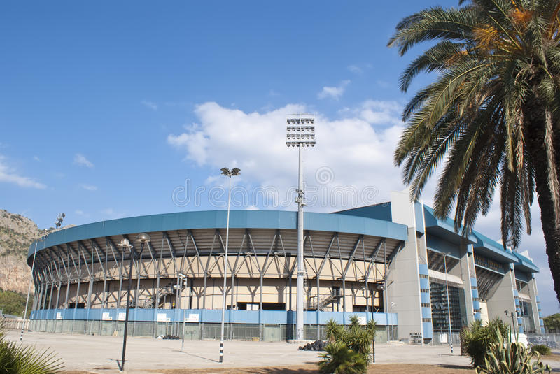 Download Football Stadium In Palermo Editorial Stock Photo - Image of palermo, football: 27502188