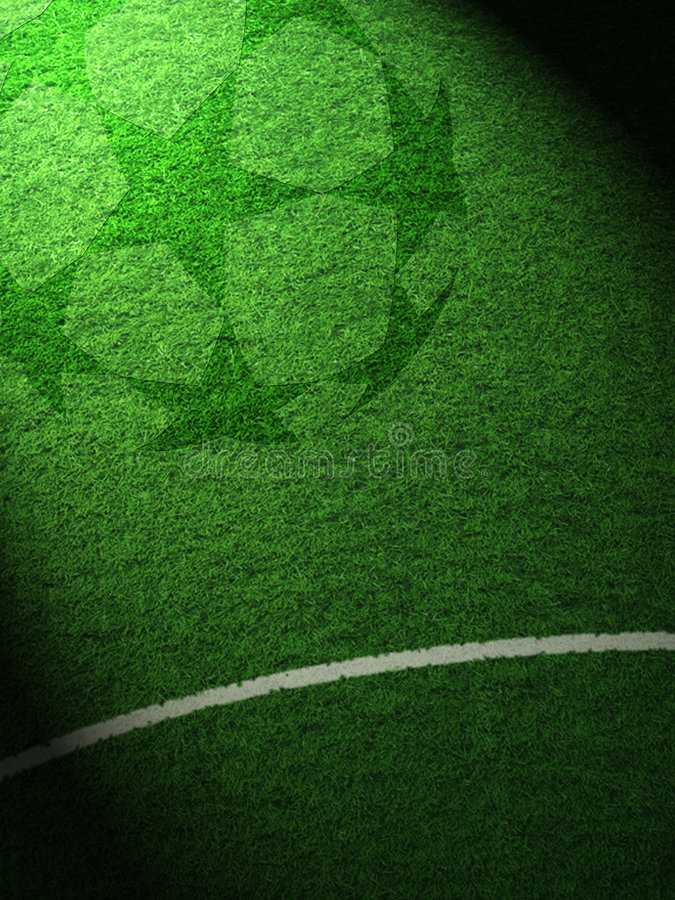 Football stars 3 royalty free stock photos