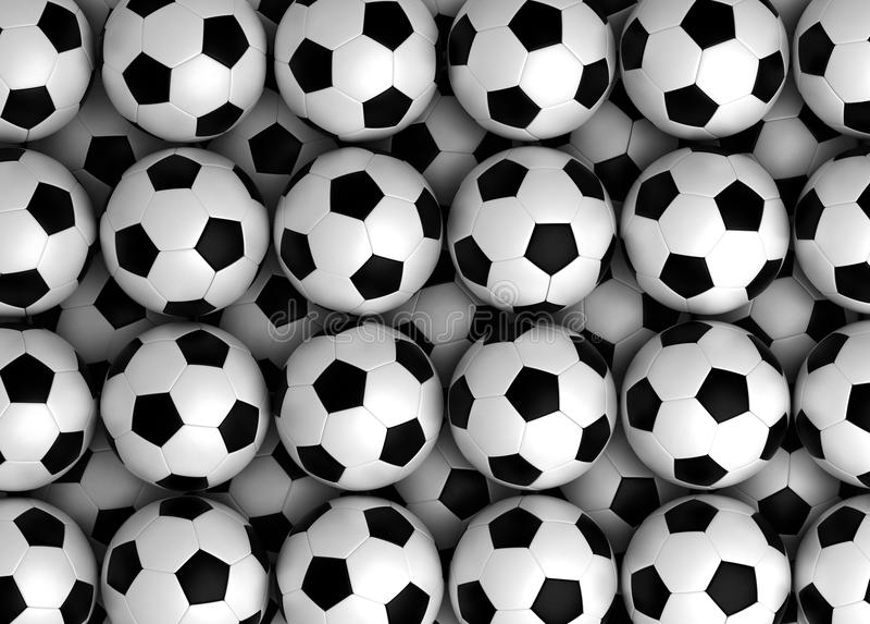 Football Texture vector illustration