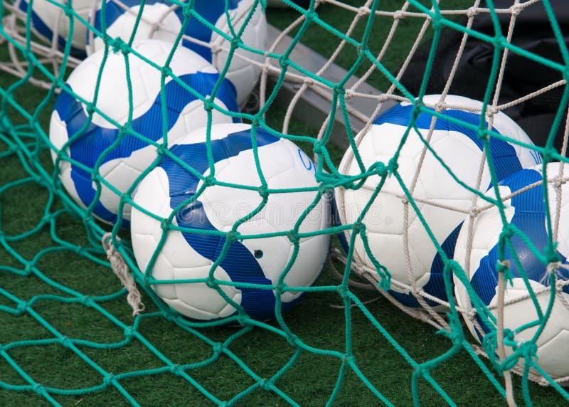 Football training for children Balls. Texture, background. Football training for children Balls stock image