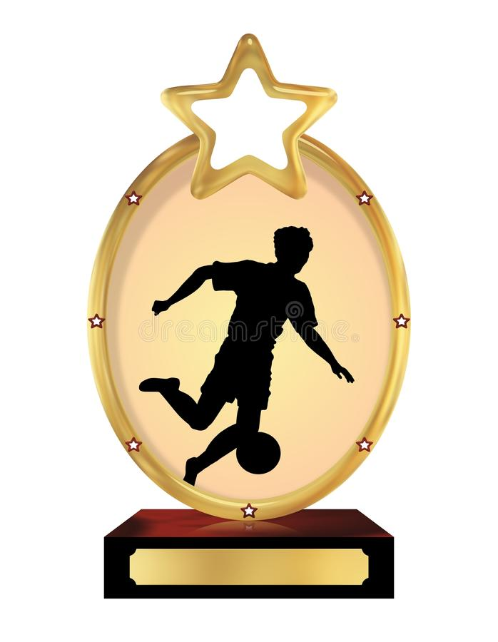 Football Trophy Royalty Free Stock Images