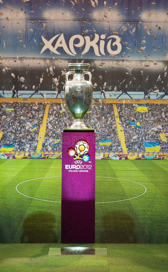 Download Football Trophy On May 17, 2012 In Kharkov Editorial Stock Image - Image: 24830824