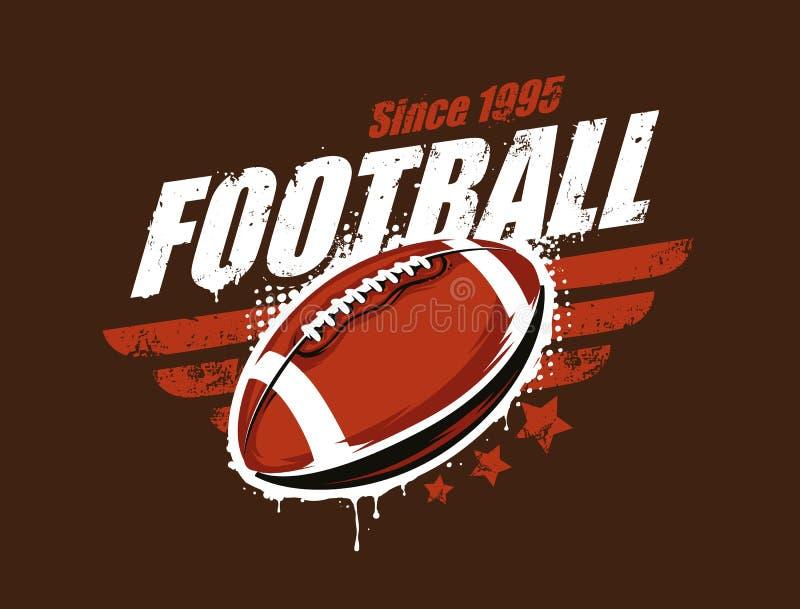 Football Vector Art royalty free illustration