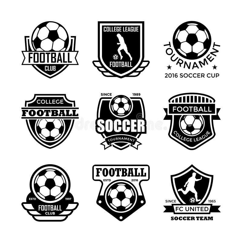 Football Vector Icons 16 royalty free illustration