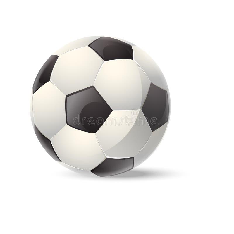 Football. Vector image of an realistic big Football vector illustration