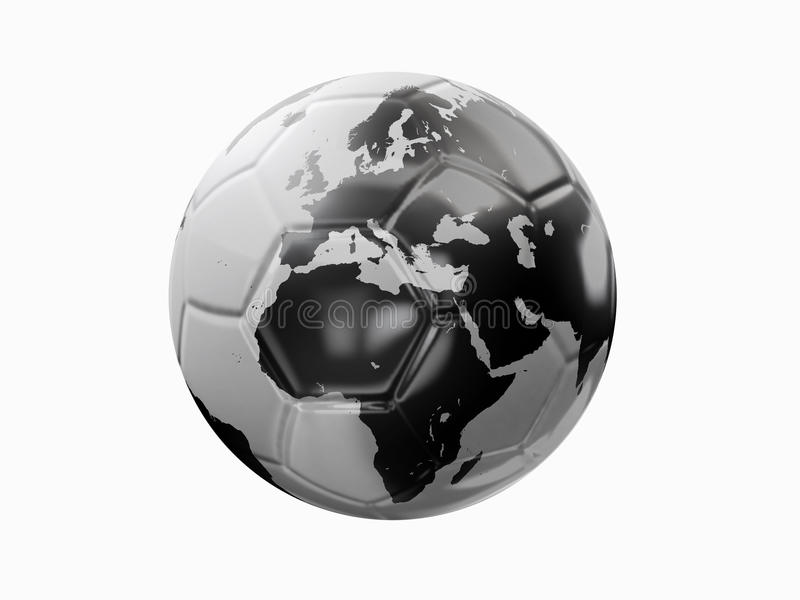 Football world royalty free stock images