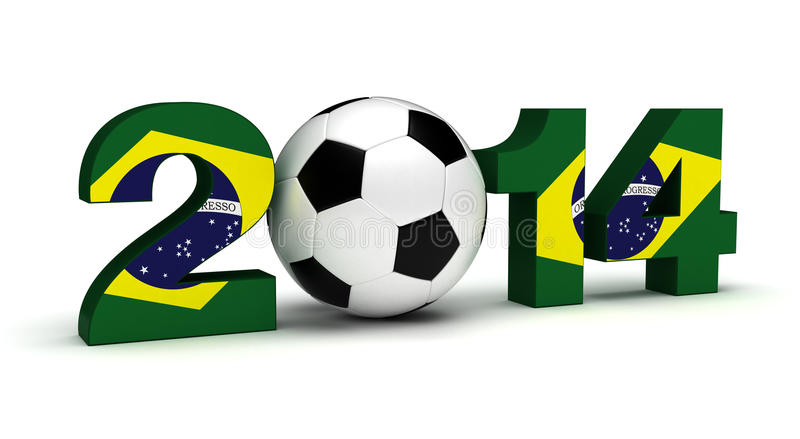 2014 Football World Cup stock photography