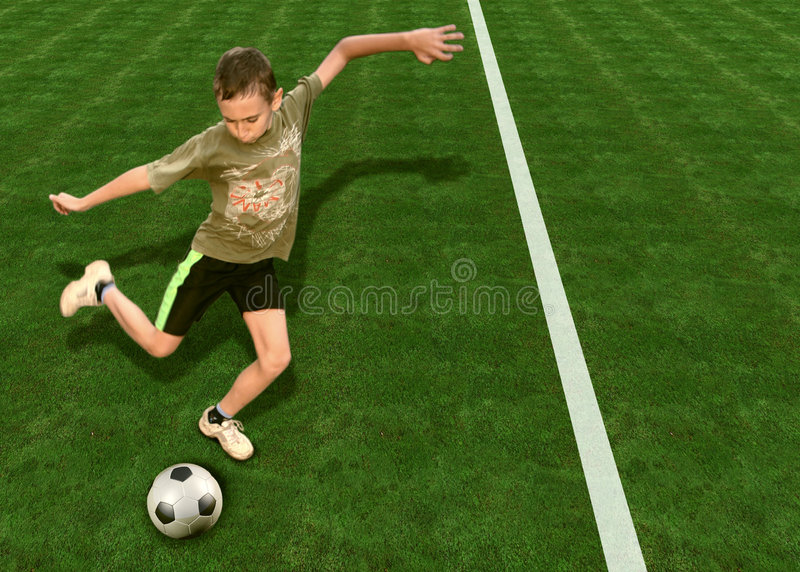 Download Football4 image stock. Image du décalage, minute, sport - 733355