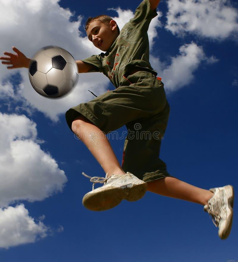 Download Football5 image stock. Image du bleu, sportif, bille, football - 733365