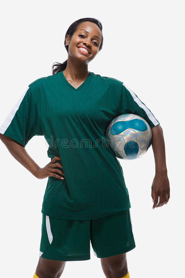 footballer photo libre de droits