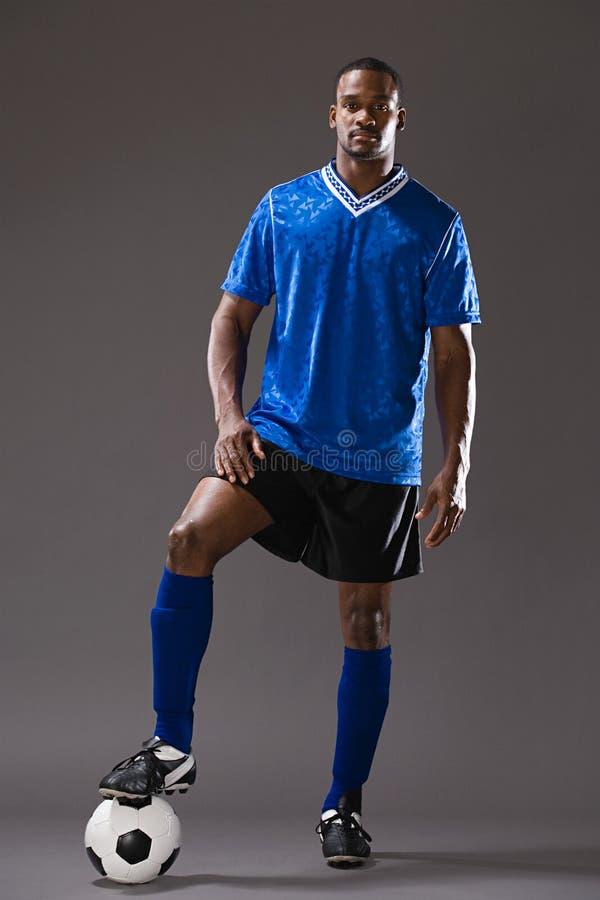 footballer foto de stock