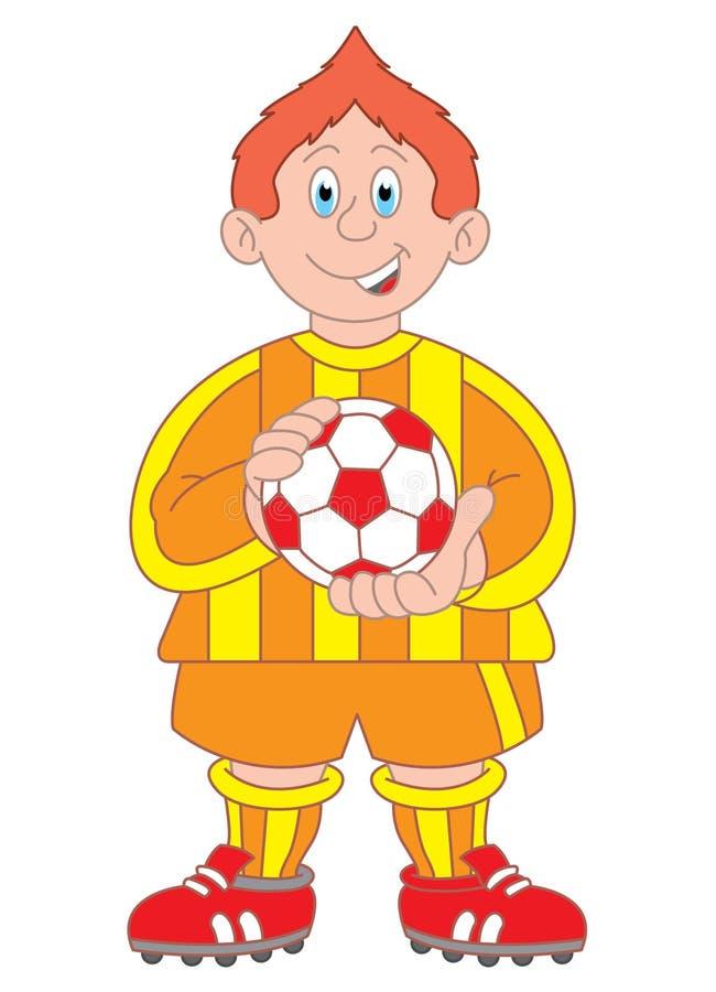 Download Footballer Cartoon Illustration Stock Vector - Image: 11794276