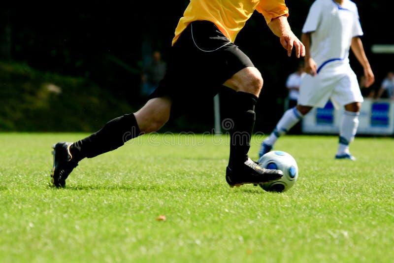 Footballeur images stock