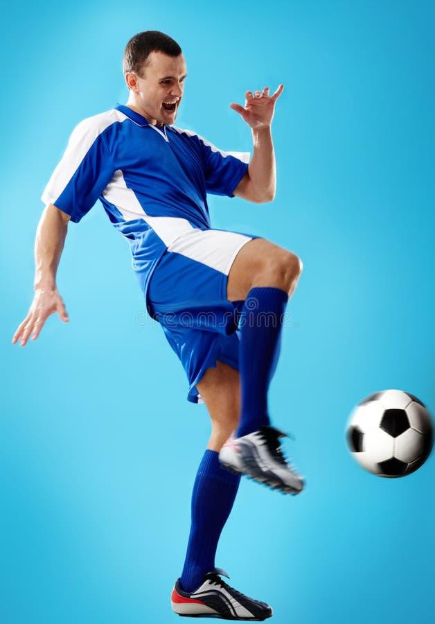 Footballeur photos stock