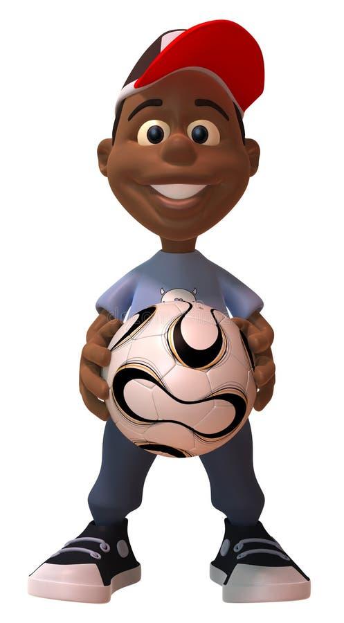 Download Footballeur illustration stock. Illustration du gibier - 8672595