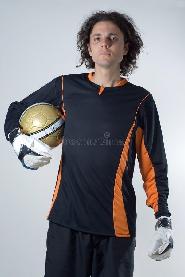 Footballeur - verticale image libre de droits