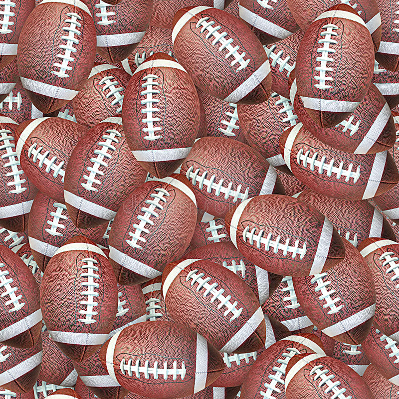 Download Footballs stock image. Image of texture, background, tile - 20748423
