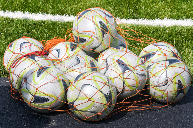Download Footballs. Royalty Free Stock Photos - Image: 8787248