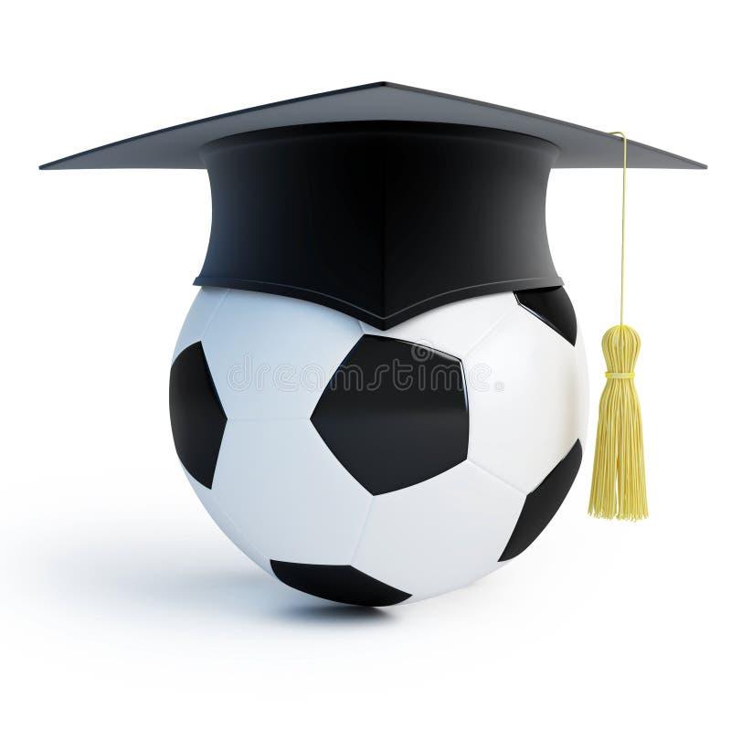Footbol Schule stock abbildung