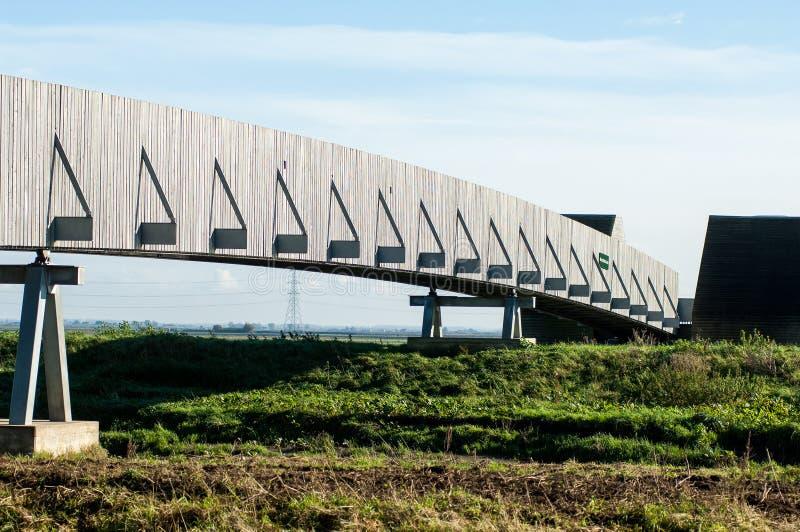 footbridge самомоднейший стоковая фотография rf