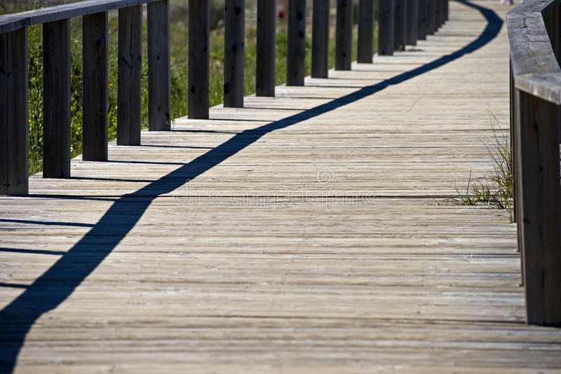 Footbridge стоковое фото rf