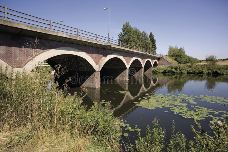 Footbridge royalty free stock photos