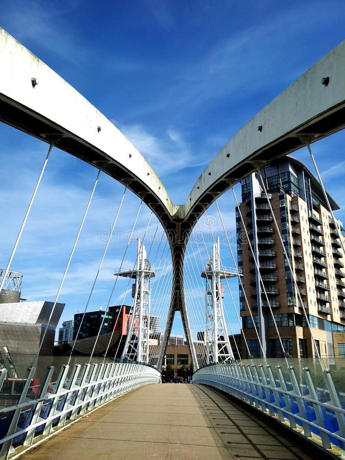 footbridge fotografia royalty free