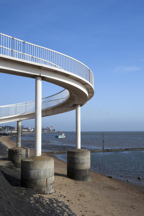 Download Footbridge At Leigh-on-Sea, Essex, England Stock Photo - Image: 29690958
