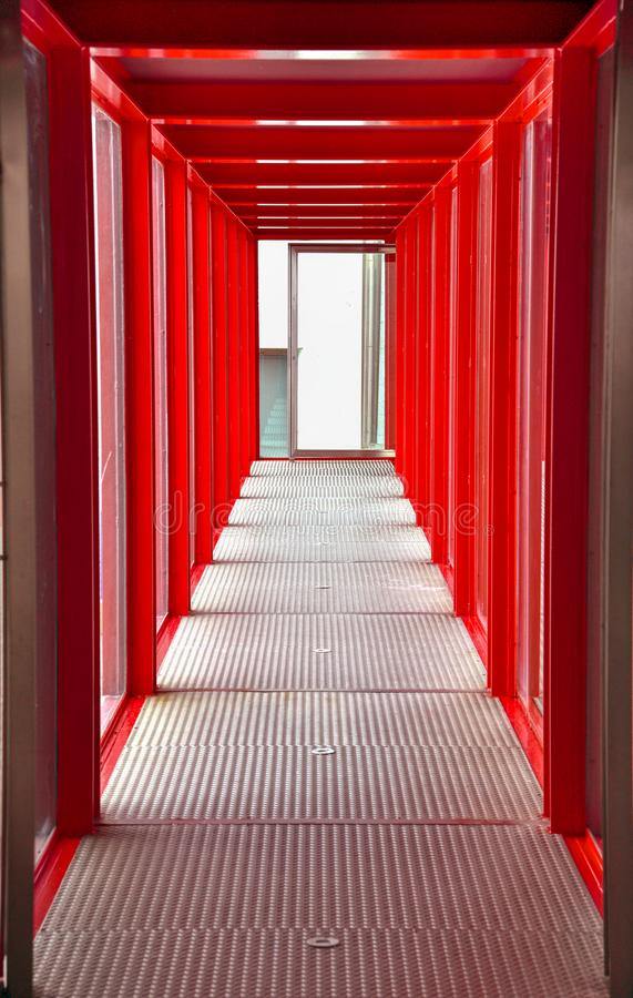 footbridge r стоковая фотография rf