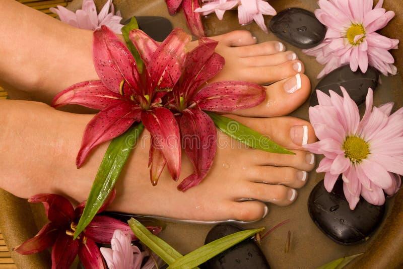 Footcare e pampering imagem de stock