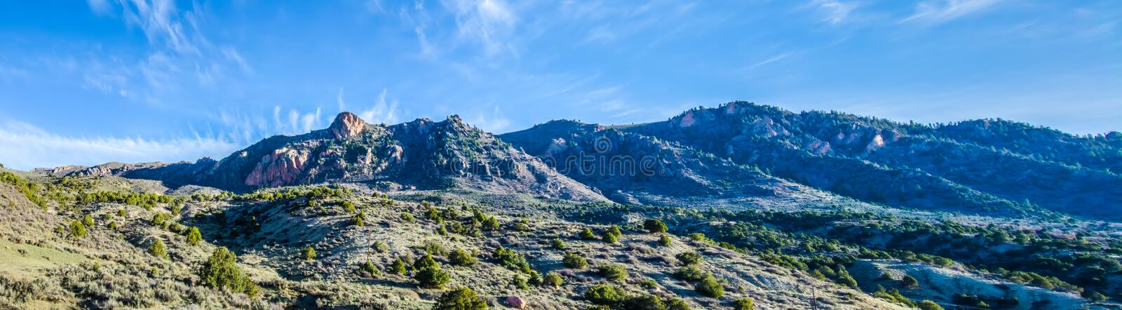 The foothills of colorado rockies. At the foothills of colorado rockies royalty free stock photos