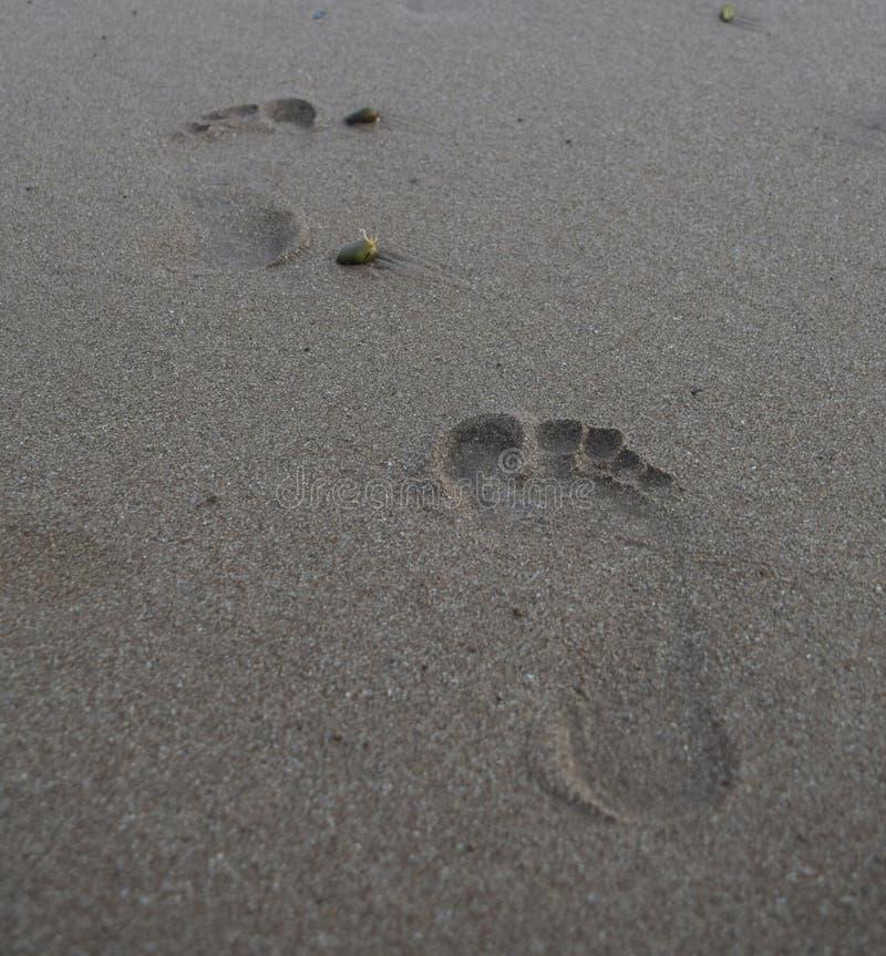 footmarks стоковое фото rf
