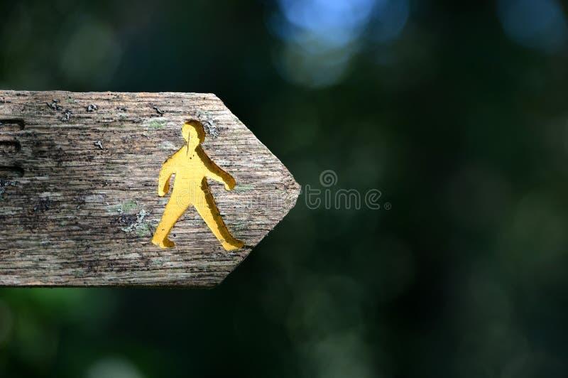 footpath стоковое изображение rf