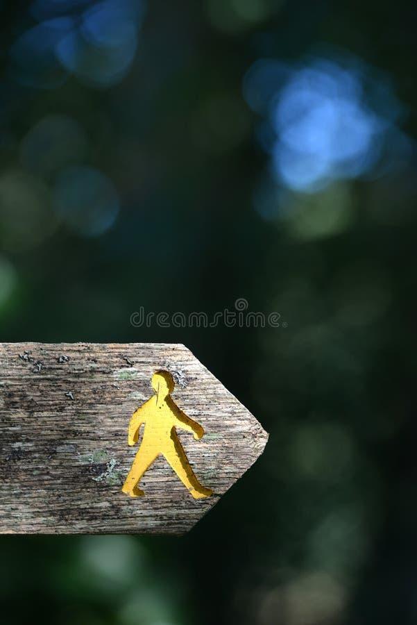footpath стоковая фотография