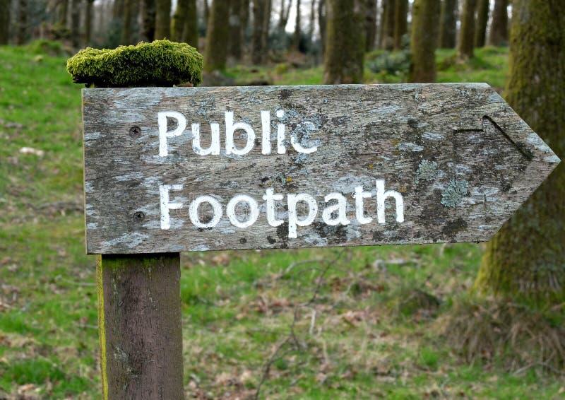 footpath стоковые изображения
