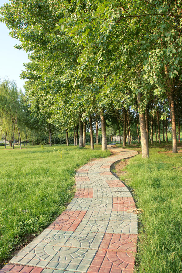 Free Footpath And Hurst Stock Photography - 24789112