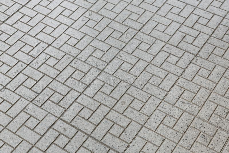 Footpath floor tiles walkway pattern stock photography