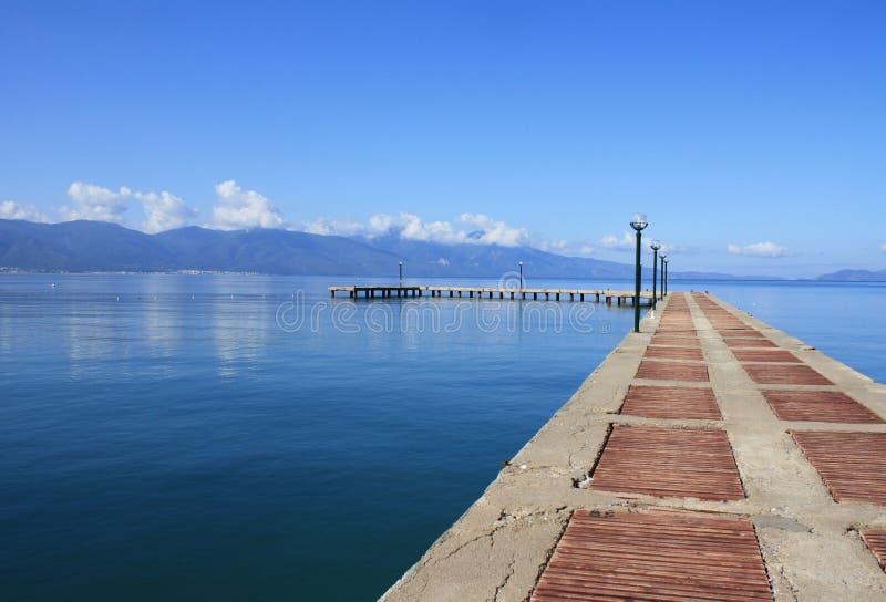 Footpath morze w Turcja zdjęcie stock