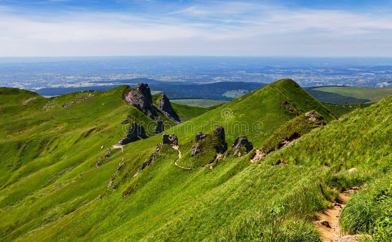 Download Footpath In Puy De Sancy Mountain Stock Photo - Image: 25938232