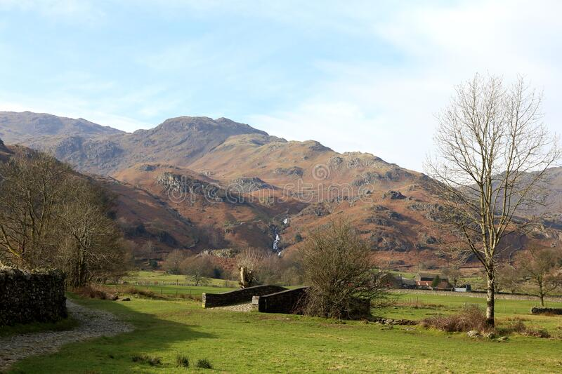 Footpath to the Fells. royalty free stock photo